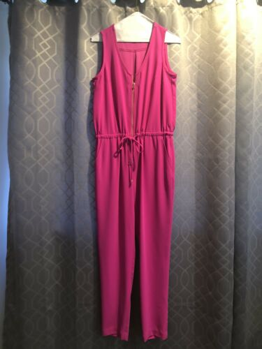 trina turk Hot Pink Sleevless Jumpsuit Size 0