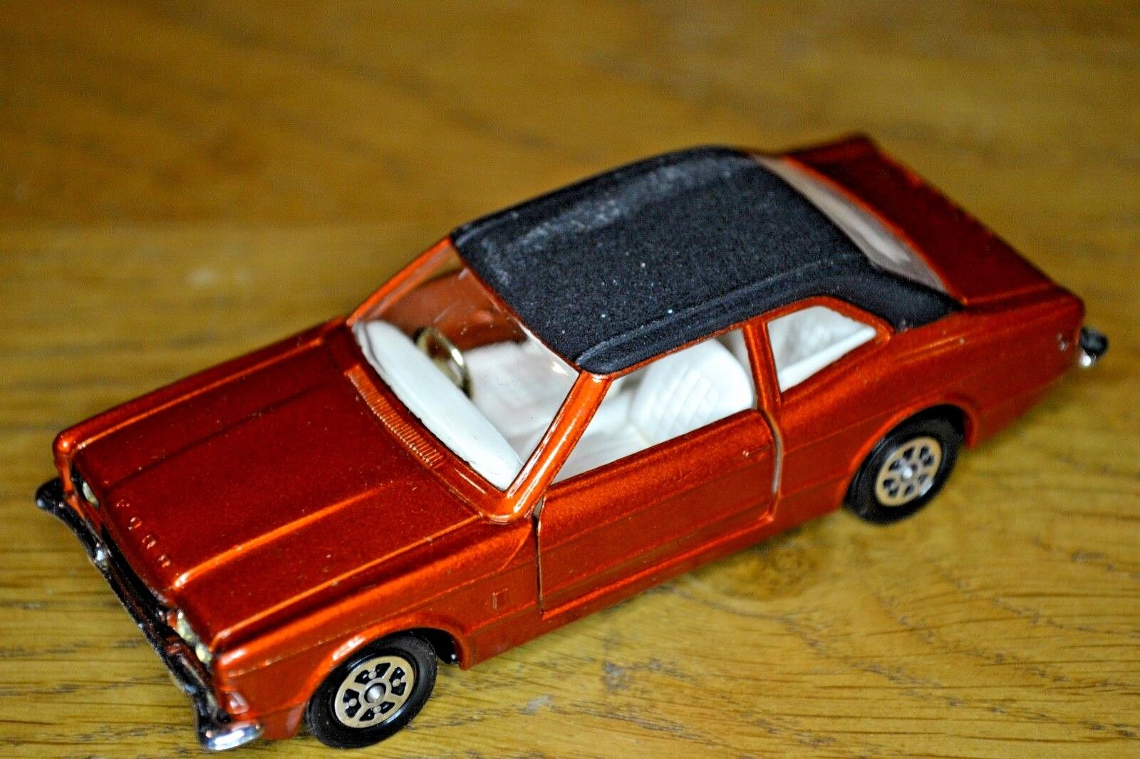 Vintage CORGI Nº Nº Nº 313 Ford Cortina GXL; Original Graham Hill Box | Insolite  | à La Mode  | Porter-résistance  415dad