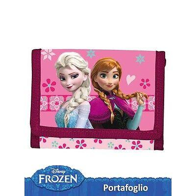 Bellissimo Portafoglio Portamonete Bambina Disney Frozen Elsa E Anna Elevato Standard Di Qualità E Igiene