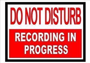 ON AIR  Studio Sign  Recording Studio Sign Wall Hanger