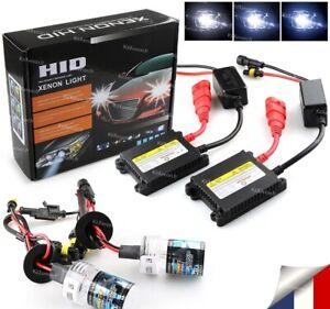 Kit Xenon Hid H7 8000k Slim Ballast Feux Phare Auto 35w A 55w Anti Erreur Obd !