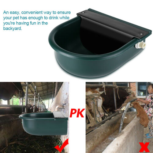 4L Automatic Water Feeder//Drinker Horse Cow Dog Drink Sheep Goat Auto Bowl
