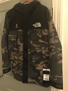 Image Is Loading The North Face X Mastermind Parka Jacket Camo