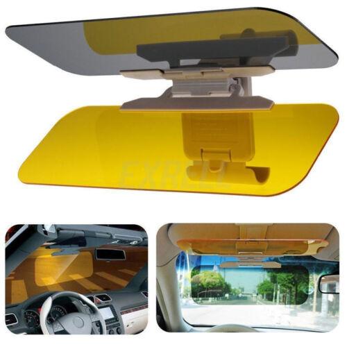 Clip-on Car Anti-Glare Day /& Night Vison Safty Driving HD Mirror Glass Sun Visor