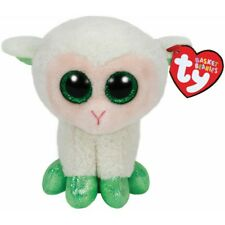 Ty Basket Beanies Lala The Lamb Beanie Baby Clip Plush 4