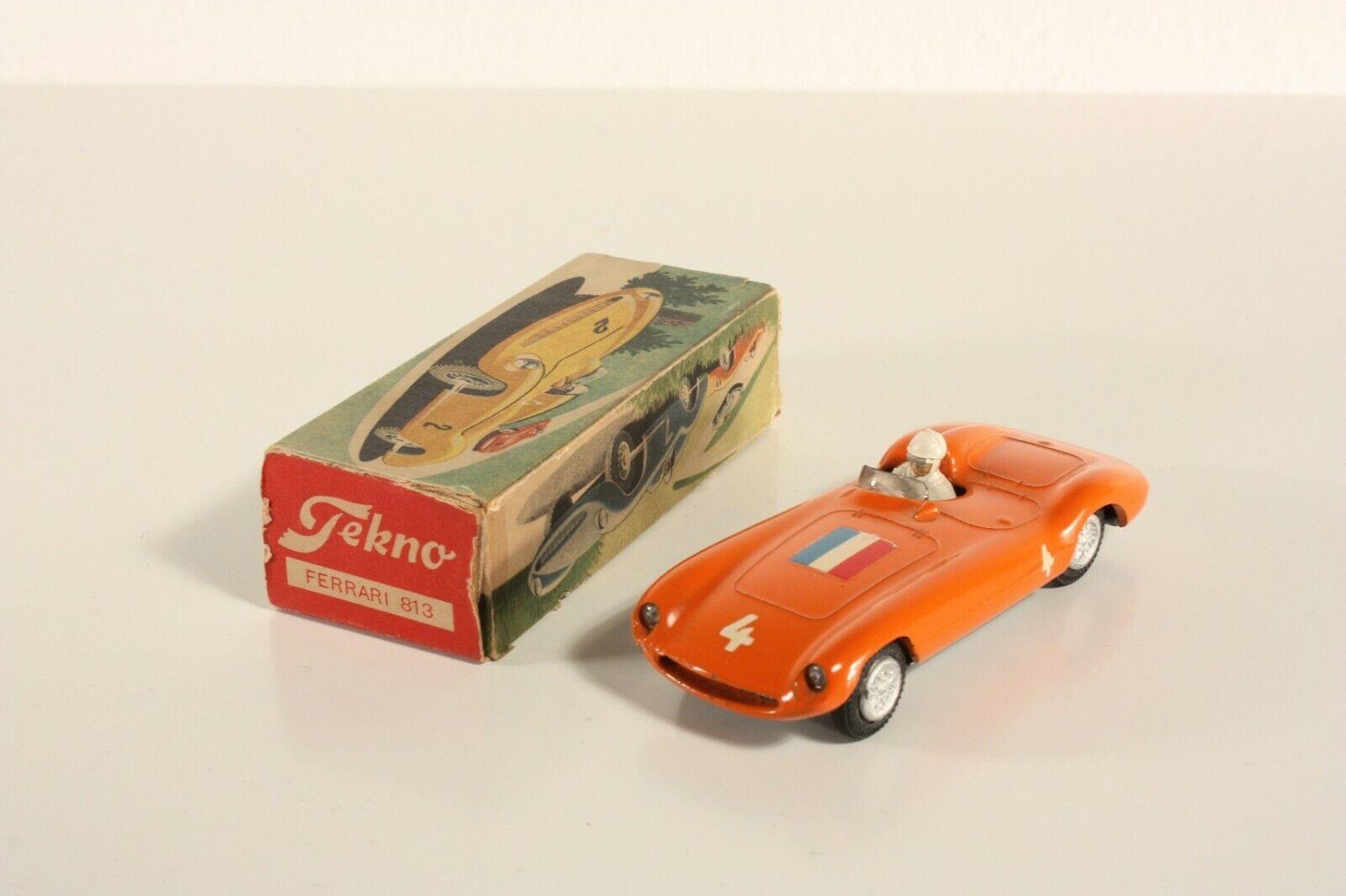 TEKNO 813, Ferrari 750. Orange, Dutch Version, Comme neuf in box  ab2172
