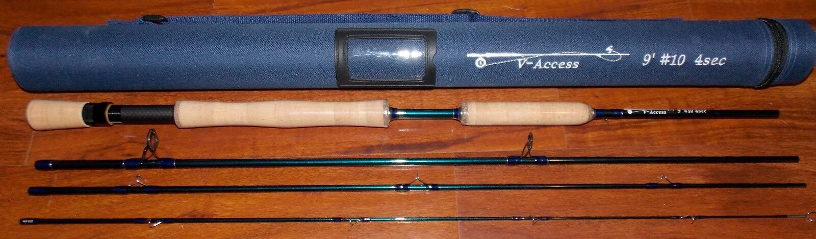 10 WT V-Access  Fly Fishing Rod   9 Foot  4 Sec. with Tube  FREE 3 DAY SHIPPING