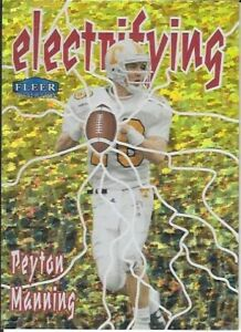 Peyton Manning Indianapolis Colts 2013 Fleer Retro Fleer Tradition Electrifying