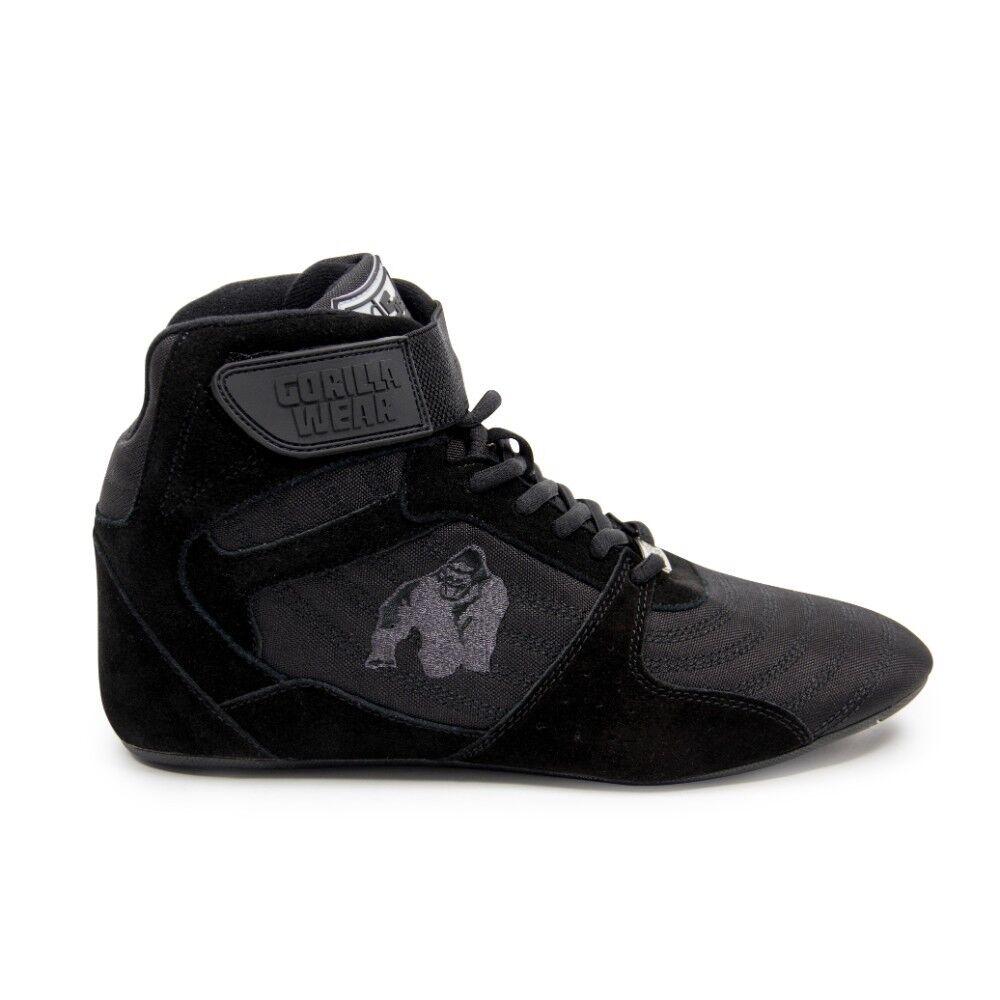 Gorilla Wear Perry Black/Black High Tops Pro – Black/Black Perry  Bodybuilding Fitness 36 - 47 d25e84