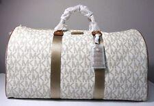 Michael Kors Signature Vanilla X-Large Travel Duffle Bag