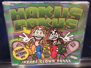 Insane-Clown-Posse-Hokus-Pokus-CD-GREEN-single-icp-twiztid-juggalo-wicked-abk