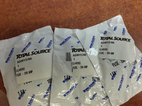 Details about  /Total Source 200 AMP Fuse CL445902