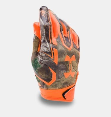 Zubehör Badminton Initiative Under Armour Ua F5 Realtree Camo Jugend Fußball Handschuhe Style 1285376-340 Pleasant To The Palate