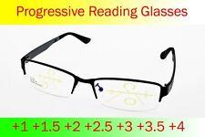 No Line Intelligence Progressive Multifocal Reading Glasses Bifocal +1 TO +4