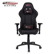 GT OMEGA PRO RACING GAMING OFFICE CHAIR BLACK LEATHER ESPORT SEATS AK