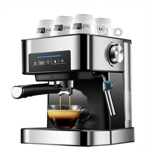 Coffee-Maker-Express-Espresso-Machine-Latte-Cappuccino-Stainless-Steel-220V