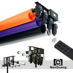4 Roller Electric Motorized Photographic Backdrop