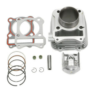 150cc-Cylinder-Barrel-Kit-for-Suzuki-GN-125-GN125-57mm-Piston-Flat-Top