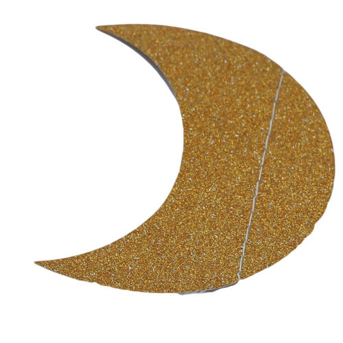 Moon Star Shape Paper String Wedding Birthday Party Decoration Atmosphere
