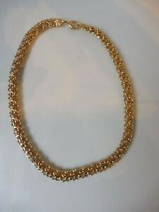 Schöne  Halskette / Kette ___vergoldet___ 43,5 cm  ____ Pierre Lang ______ !