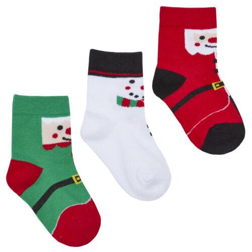 Zest Baby Pack of Festive Christmas Socks