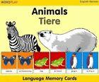 Language Memory Cards - Animals by Milet Publishing Ltd 9781840595482