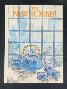 COVER-ONLY-The-New-Yorker-Magazine-February-9-1981-Arthur-Getz