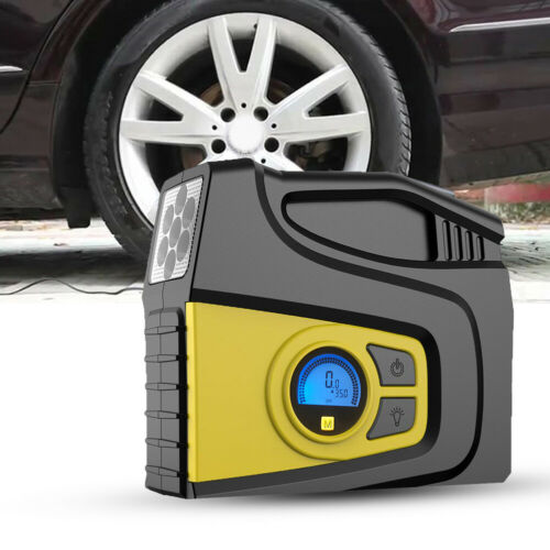 Details about  /portable Air Compressor Car Tire Inflator Electric Air pump for Car Motor Bike