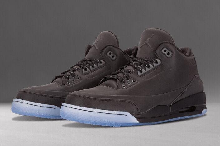 2014 Para Hombre Jordan 5Lab3 Retro 3 tamaño Air 8 Reflectante 3M Negro 631603-010