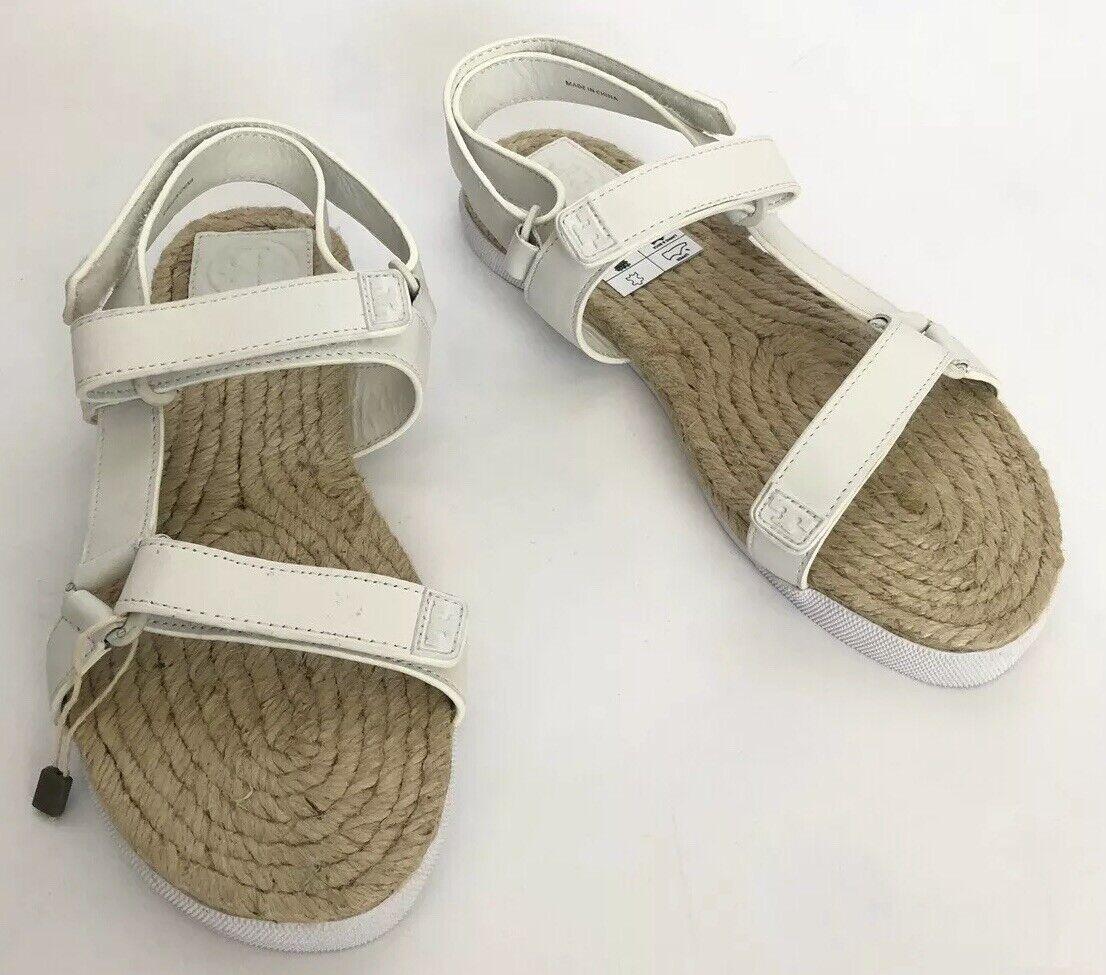 Tory Burch mujeres zapatos M Nuevo en Caja blancoo Sandalias
