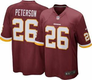 NIKE-NFL-Youth-Washington-Redskins-Adrian-Peterson-Shirt-Size-10-12yrs-Medium