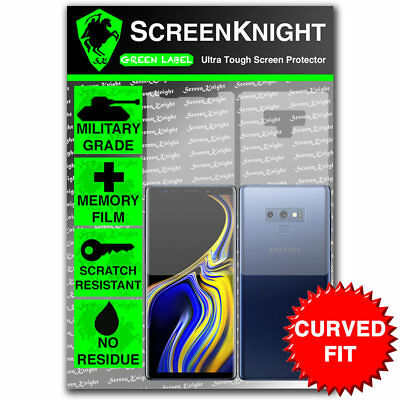 ScreenKnight Samsung Galaxy Note 9 / IX FULL BODY SCREEN PROTECTOR - CURVED FIT