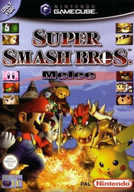 Nintendo GameCube Spiel - Super Smash Bros. Melee DE/EN mit OVP NEUWERTIG
