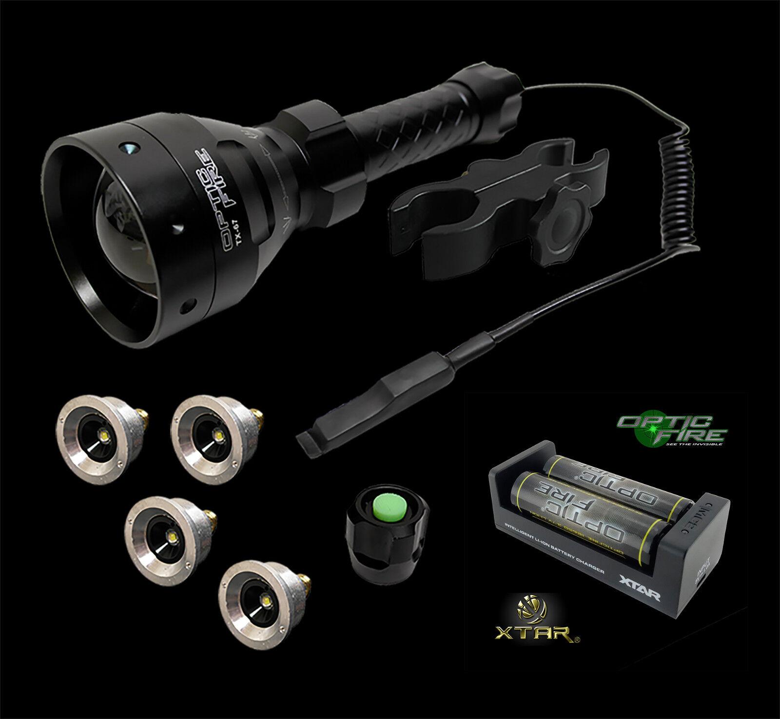 Opticfire ® TX-67 T67 led deluxe/suprême portée lamping kit chasse chasse chasse torche nv lampe dc1b93