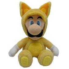 Super Mario Bros 22 cm Official Sanei Kitsune Fox Luigi Plush Toy New