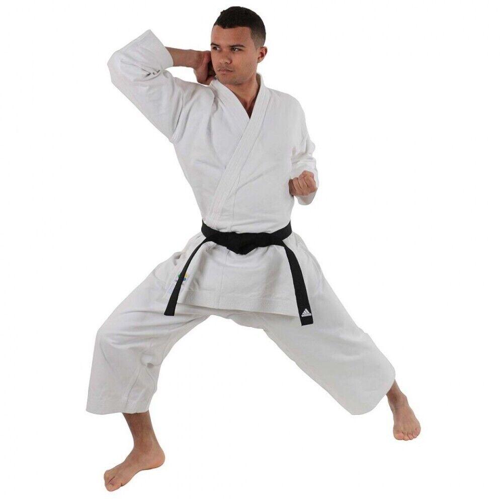 New Adidas Karate Japanese Kigai Kata Gi 13oz weiß 6.5 195