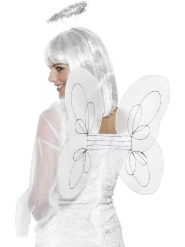 Wings & Wishes White Fairy Costume Set One Size