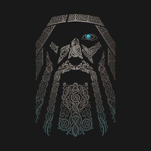 d40ad3ca THOR Odin Norse God Asgard Midgard All-Father Valhalla Gungnir Mens ...