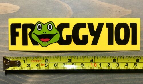 "Froggy 101 Sticker Decal 6/"" The Office Dwight Schrute Michael Scott False PO"