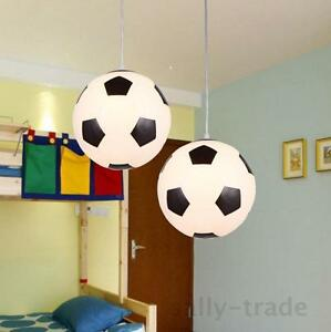 Image Is Loading Football Gl Lamp Lighting Pendant Chandelier Ceiling Light