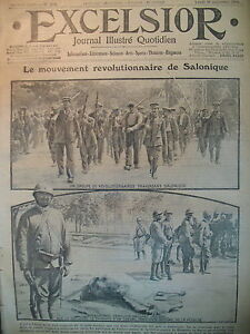 WW1-N-2134-SALONIQUE-REVOLUTIONNAIRES-MODE-PAR-FABIANO-JOURNAL-EXCELSIOR-1916