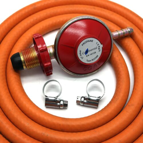 2 clips Fits Calor Gas HAND-TIGHT PROPANE GAS REGULATOR With 2m Hose Flogas