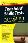 Teacher's Skills Tests For Dummies by Andrew Green, Colin Beveridge (Paperback, 2014)