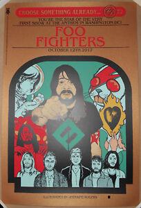 BRONZE-VARIANT-Foo-Fighters-Washington-DC-2017-Jermaine-Rogers-Print-Poster-S-N