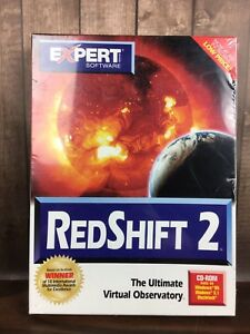 RedShift Red Shift 2 Astronomy Galaxies Stars Win PC CD explore your