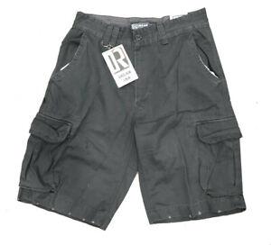 New-DREAM-USA-Men-039-s-Size-34-Gray-Cargo-Shorts-6-Pockets-Zip-Fly-60-Retail-NWT
