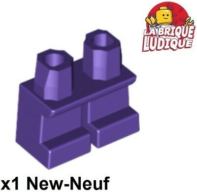 Lego - 1x Gamba Corta Bambini Gambe Short Viola Scuro/dark Viola 41879 Nuovo
