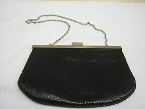 black evening bags ebay