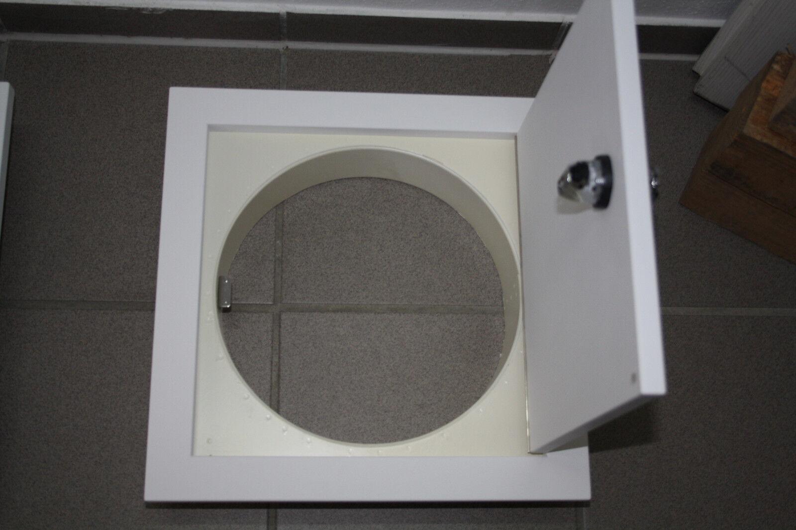 Wäscheschacht - - - Tür  , grundiert mit Zylinderschloß 400 26fa75