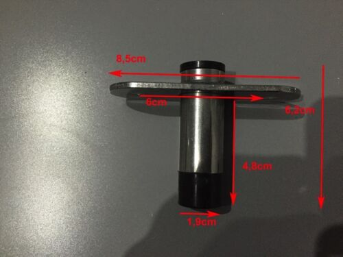 NEU 2x Ruderdolle Rudergabel Paddelhalterung Edelstahl 40-45mm Bootsport Ruder- & Paddelboote
